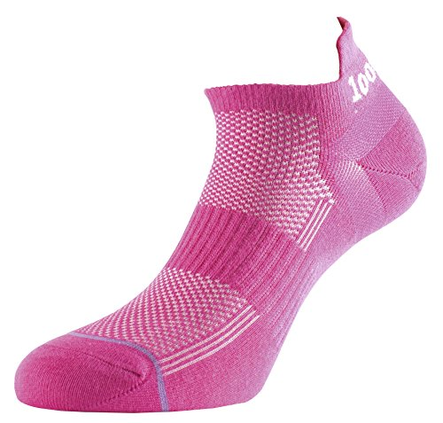 1000 Mile Women's Trainer Liner Sports Socks, Hot Pink, Medium from 1000 Mile