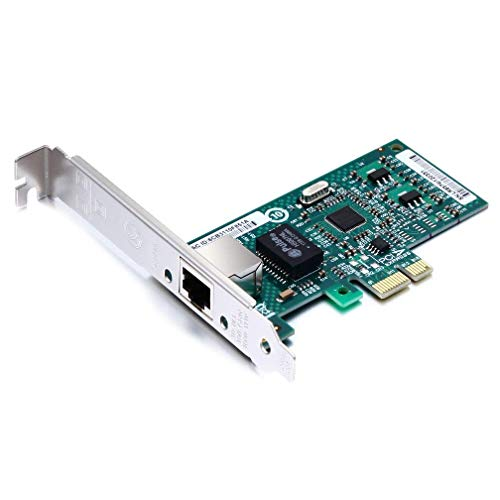 Gigabit PCIE Desktop Network Adapter for Intel EXPI9301CT - 82574L Chip, Single RJ45 Port, 1Gbit PCI Express Ethernet LAN Card, 10/100/1000Mbps NIC for Windows Server, Win8, 10 and Linux from 10Gtek