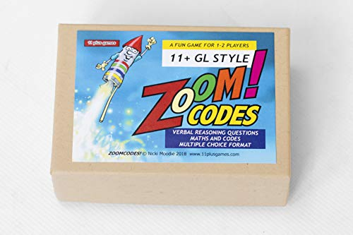 Zoom Codes-11+ GL Verbal Reasoning game from 11 plus games