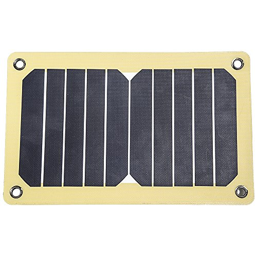 12 Survivors Unisex's SolarFlare 5 Solar Panel, Yellow, Small from 12 Survivors