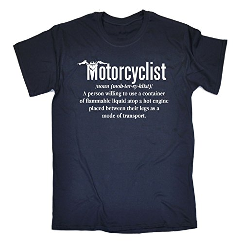 Funny Novelty Men's Motorcyclist Noun Motorcycle T Shirt Motorbike Tee Motorcycling Bike Top leathers Helmet Boots Gloves Clothing Birthday Gift Christma T-Shirt tshirt mens slogan tshirts shirts for from 123t