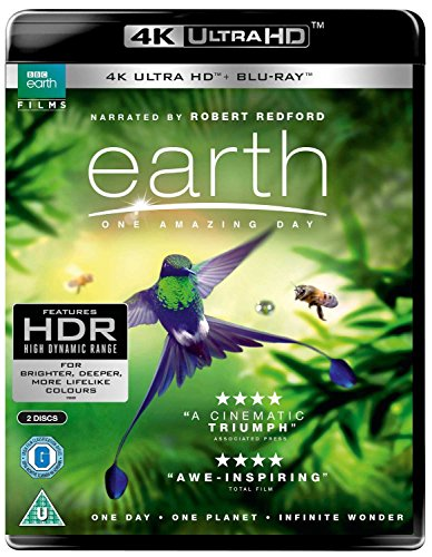 Earth - One Amazing Day UHD [Blu-ray] [2018] from BBC