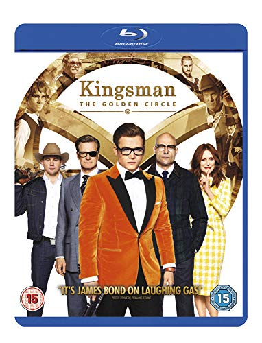 Kingsman: The Golden Circle [Blu-ray + UV Copy] [2017] from 20th Century Fox Home Entertainment