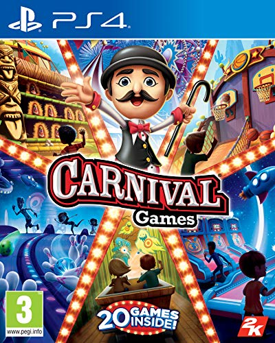 2K Games Carnival Games (PS4) from 2K Games
