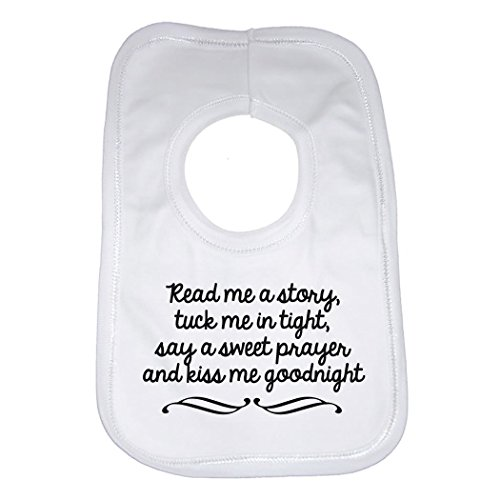 Read Me A Story Beautiful Quotation Baby Bib from 2Personal