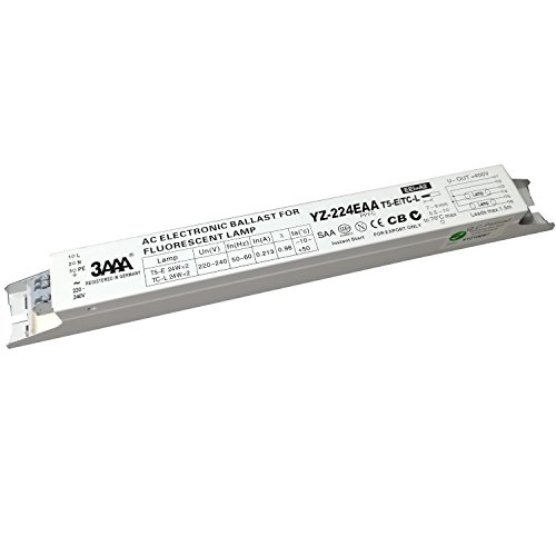 3AAA YZ-224EAA T5-E/TC-L 220-240V 2x24W Fluorescent Lamp AC Electronic Ballasts Instant Start from 3A