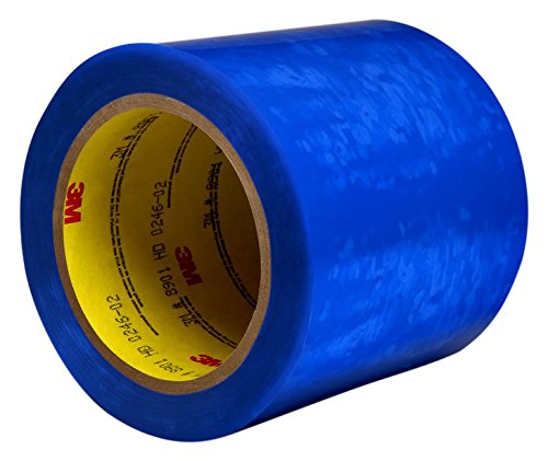 3M 8901 Poly Masking Tape for Powder Coating, 19 mm x 66 m, 0.06 mm, Blue, Pack of 48 from 3M