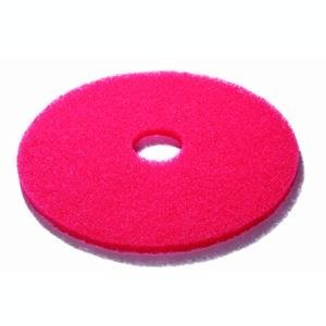 "3M Buffing Floor Pads 17"" Red 43 cm - Pack of 5 from 3M"
