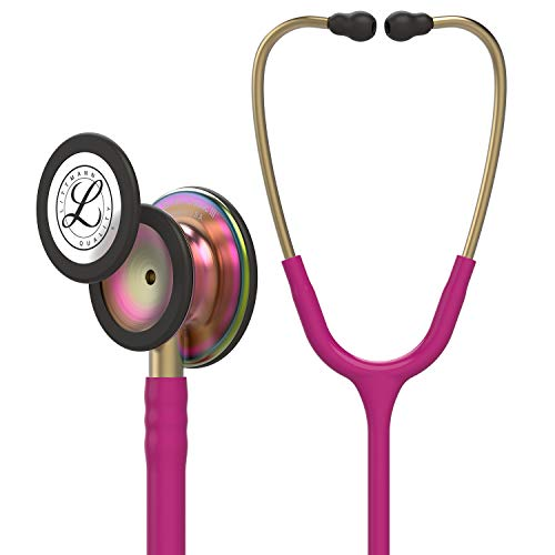 3M Littmann 5806 Classic III Stethoscope, Rainbow Edition - Raspberry from 3M