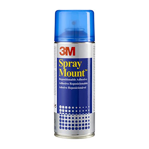 3M SprayMount Adhesive Spray - 400 ml, Transparent from 3M