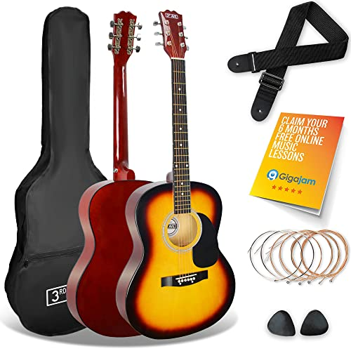 3rd Avenue STX10ASBPK Acoustic Guitar Pack - Sunburst from 3rd Avenue