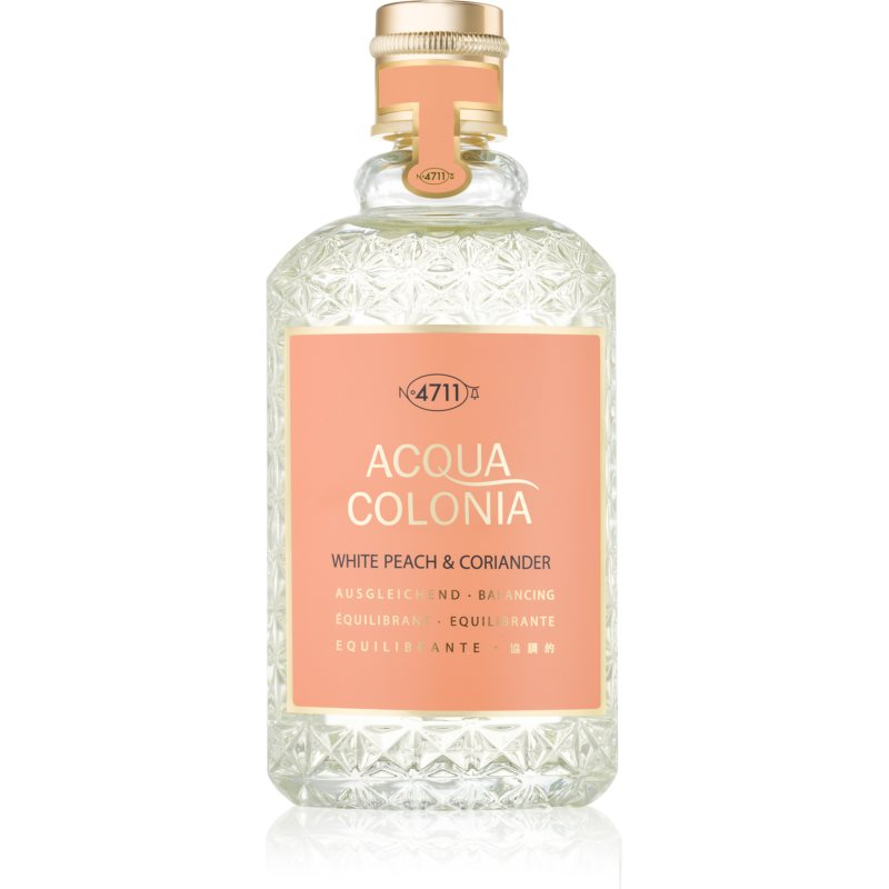 4711 Acqua Colonia White Peach & Coriander Eau de Cologne unisex 170 ml from 4711