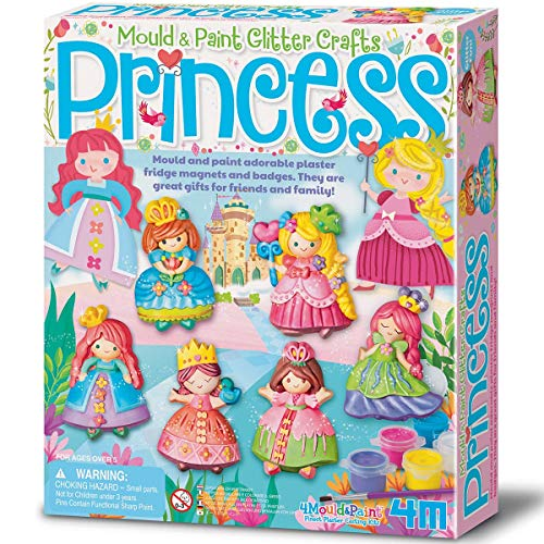 "4M ""2019"" Glitter Princess Mould and Paint - Multi-Coloured from 4M"