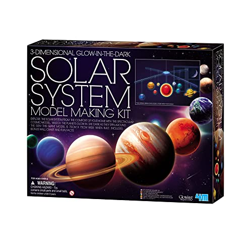 "4M ""Solar System Mobile 3D Making Kit (Multi-Colour) from 4M"