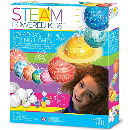 STEAM Powered Kids - Solar System String Lights from 4M