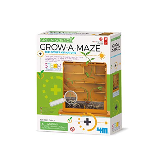 Great Gizmos Science Grow-A-Maze (Green) from 4M