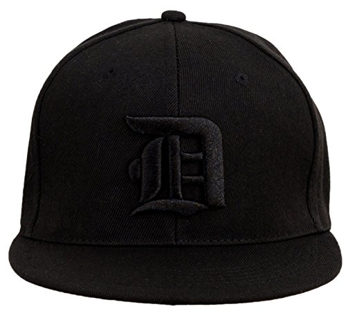 1b12fa3d4ff 4sold Snapback Hat with Raised 3D Black Embroidery Letter Baseball Cap Hip-Hop  Cap Hat