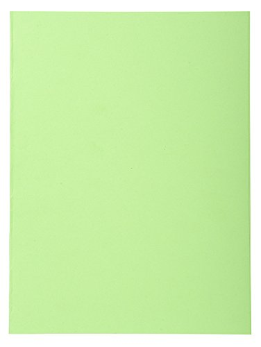 Exacompta Forever Recycled Square Cut Folders, 220 gsm, A4 - Bright Green, Pack 100 from Exacompta