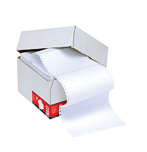 5 Star Office Listing Paper 1-Part Microperforated 60gsm 11inchx241mm Plain [2000 Sheets] from 5 Star