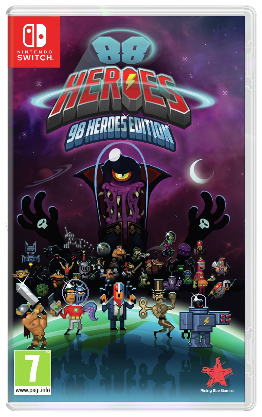 88 Heroes 98 Heroes Edition Nintendo Switch Game from 88 Heroes