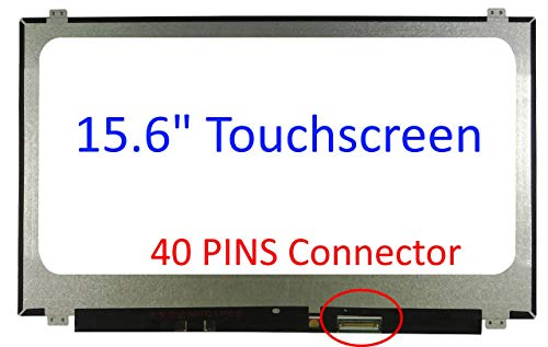 1600x900 WXGA+ LED 40 Pin Glossy 17.3 HD Glare Laptop LCD Screen//Display Panel Compatible Replacement fits CPT CLAA173UA01A