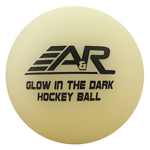 A & R Glow in the Dark Street Hockey Ball from A&R Sports