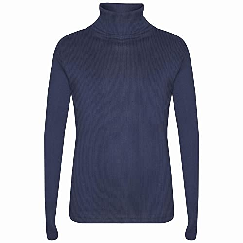 39a00918 A2Z 4 Kids® Girls T Shirt Top Thick Cotton Turtleneck Long Sleeves - Polo  Neck