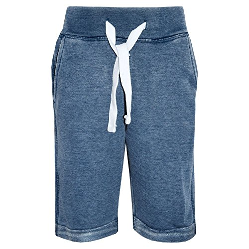 A2Z 4 Kids Kids Fleece Chino Summer Shorts Knee Length Half Pant - Boys Fleece Shorts Blue_11-12 from A2Z 4 Kids