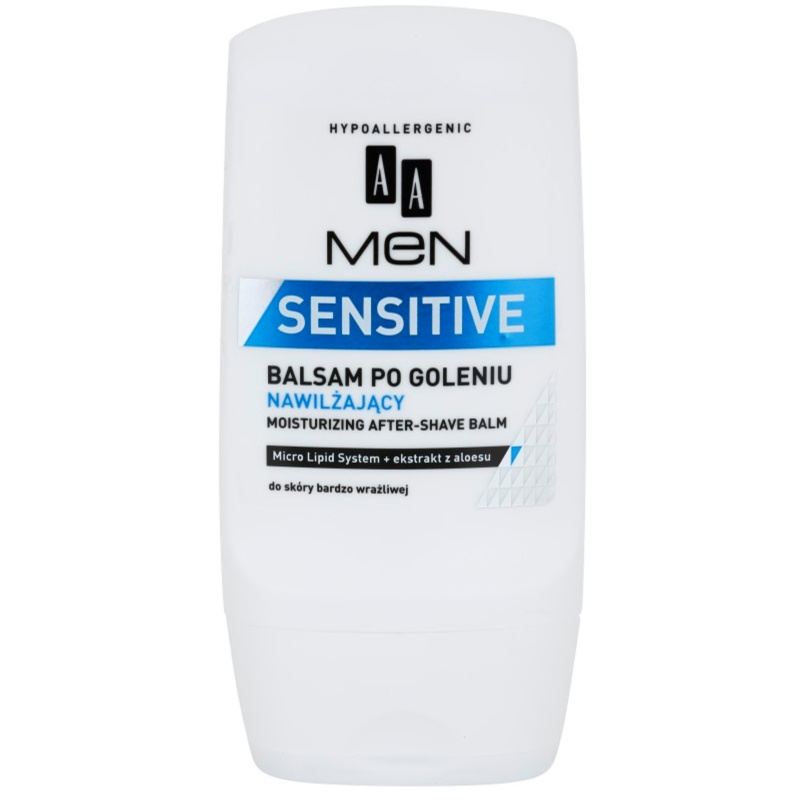 AA Cosmetics Men Sensitive Moisturizing After Shave Balm 100 ml from AA Cosmetics