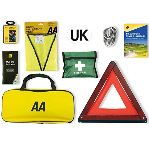 AA Euro Travel Kit for driving in France and Europe from AA
