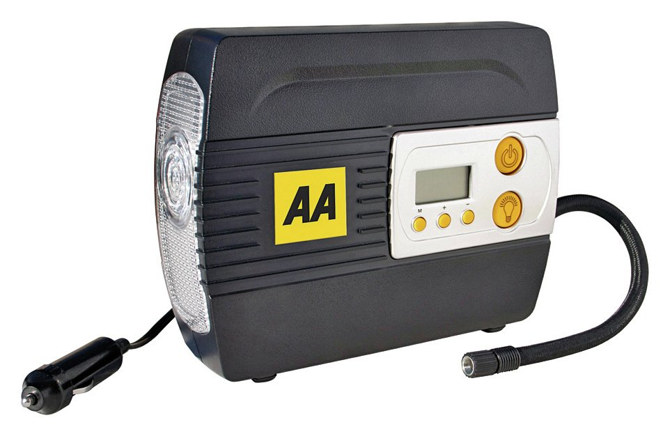 AA Digital Air Compressor - 12V from AA