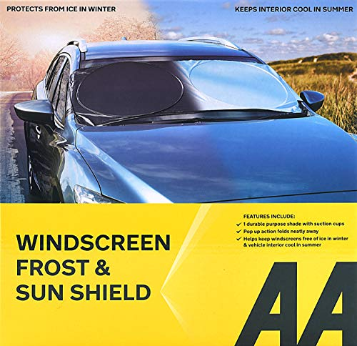AA Windscreen Sun Shield and Frost Protection from AA
