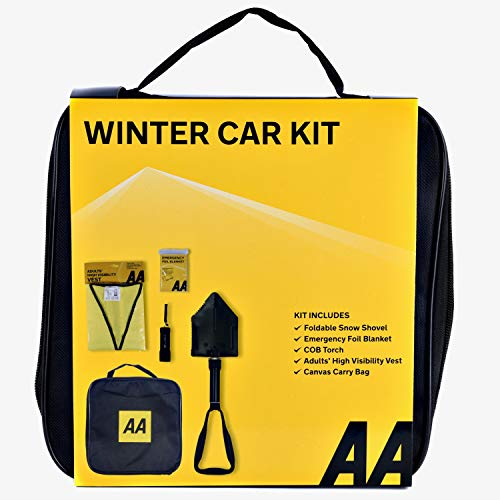 AA Emergency Winter Car Kit with Folding Snow Shovel from AA