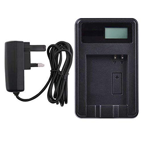 AAA Products - Mains Battery Charger for Panasonic Lumix DMC-FS4, DMC-FS6, DMC-FS7, DMC-FS8, DMC-FS9, DMC-FS10, DMC-FS11, DMC-FS12, DMC-FS15, DMC-FS25 and DMC-FH22 Digital Cameras from AAA Products