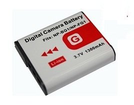 High Capacity - Rechargeable battery for Sony Cyber-Shot DSC-W30, DSC-W35, DSC-W40, DSC-W50, DSC-W55, DSC-W70, DSC-W80, DSC-W85, DSC-W90 Digital Camera - AAA Products® from AAA PRODUCTS