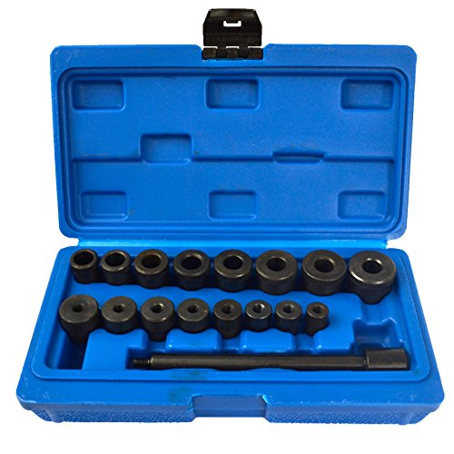 17pc Universal Clutch Fly Wheel Aligning Car Van Mechanics Kit Alignment TE136 from AB Tools-Toolzone