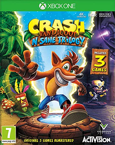 Crash Bandicoot NSane Trilogy (Xbox One) from ACTIVISION