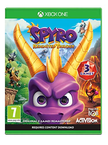 Spyro Trilogy Reignited (Xbox One) from ACTIVISION