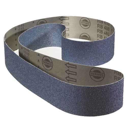 AES A.0530-24 Abrasive Belt, P24 Grit, 25 mm Width x 1065 mm Length (Pack of 10) from AES