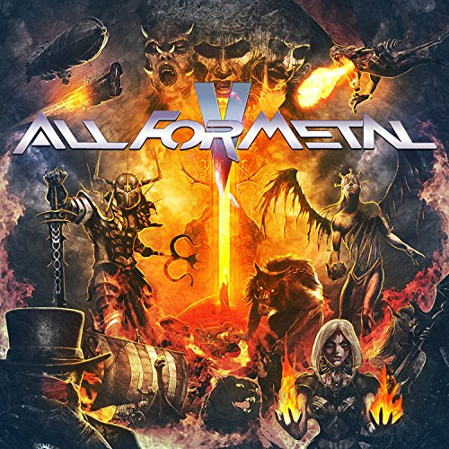 All For Metal, Vol. V (Cd+dvd) from AFM RECORDS