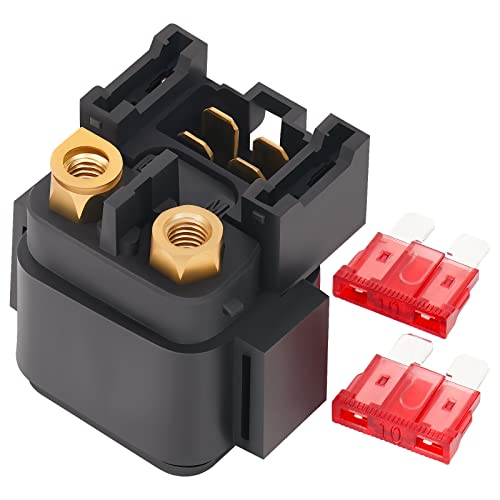 AHL Motorcycle Starter Solenoid Relay for Yamaha KODIAK 400 YFM400 2000-2006 from AHL-Motorbike Starter Relay