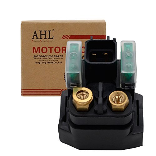 AHL Starter Solenoid Relay for 650 SV650 S SV650S 1999-2008/ SV1000 SV1000S 2003-2007/ AN400 2003-2009 from AHL-Motorbike Starter Relay