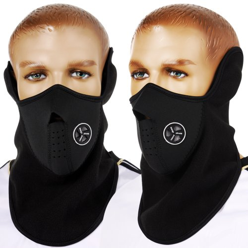 DSYJ Windproof Face Mask Cover Caps Winter Warm Face Cover Neck Warmer Ski Hat Winter Outdoor Ski Mask Headcover from DSYJ