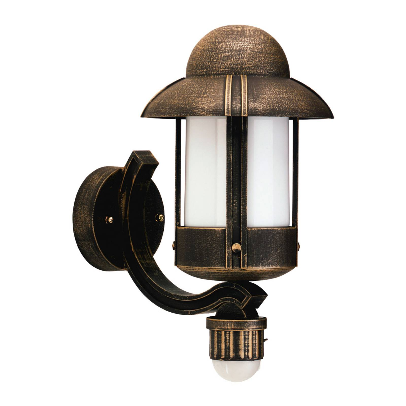 Country-style Dorothee outdoor wall light, brown from Albert Leuchten