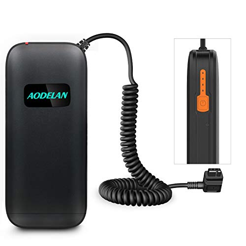 AODELAN External Flash Battery Pack Battery Power Bank for Canon 600EX II-RT, 600EX-RT, 580EX 580EX II, 550EX, Speedlite .Yongnuo & Godox Speedlite Replace CP-E4N & CP-E4 (12 AA Batteries) from AODELAN