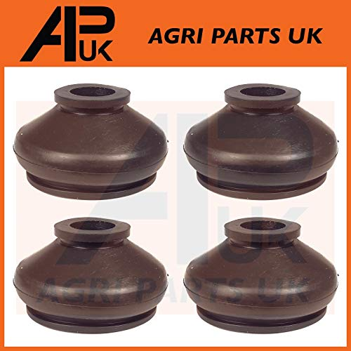 APUK 4 x Track Rod End Rubber Boot Compatible with Massey Ferguson TE20 TEA TED 20 135 165 290 Tractor from APUK