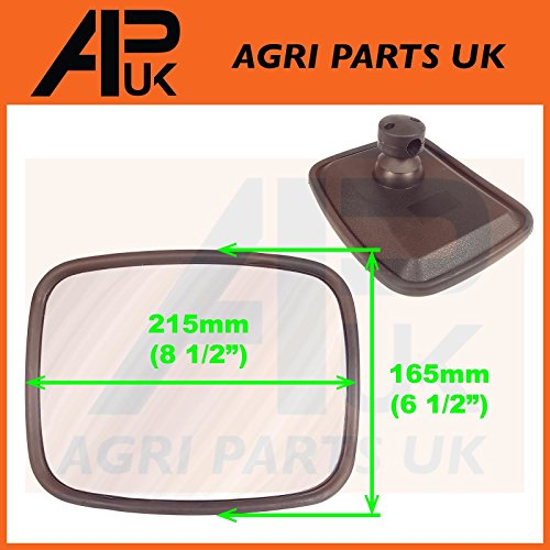 Rear Wide Angle Blind Spot Mirror Head Tractor Telehandler Truck Trailer Hitch from APUK