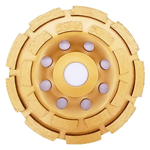 APLUS Diamond Grinder Disc 115mm 4.5'' / Diamond Cup Wheel for : Concrete, Marble, Granite, Natural stone (115mm) from APlus