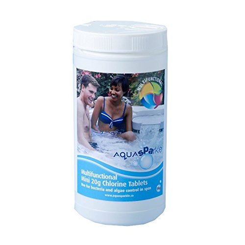Blue Horizons BWP619-1 Aqua Sparkle Spa Multifunctional Chlorine 20 g Tablet, 1 kg from Blue Horizons