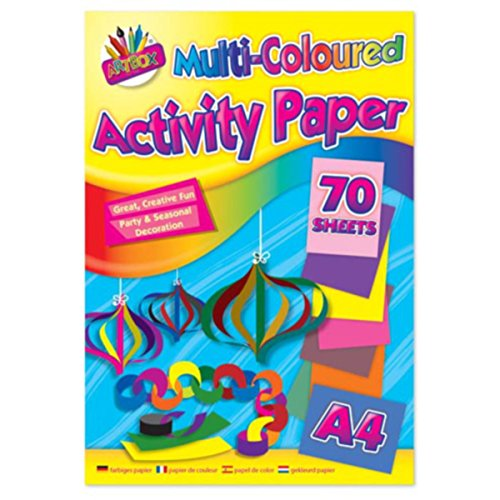 Artbox Multi Colour Pad (Sheet of 70) from ARTBOX